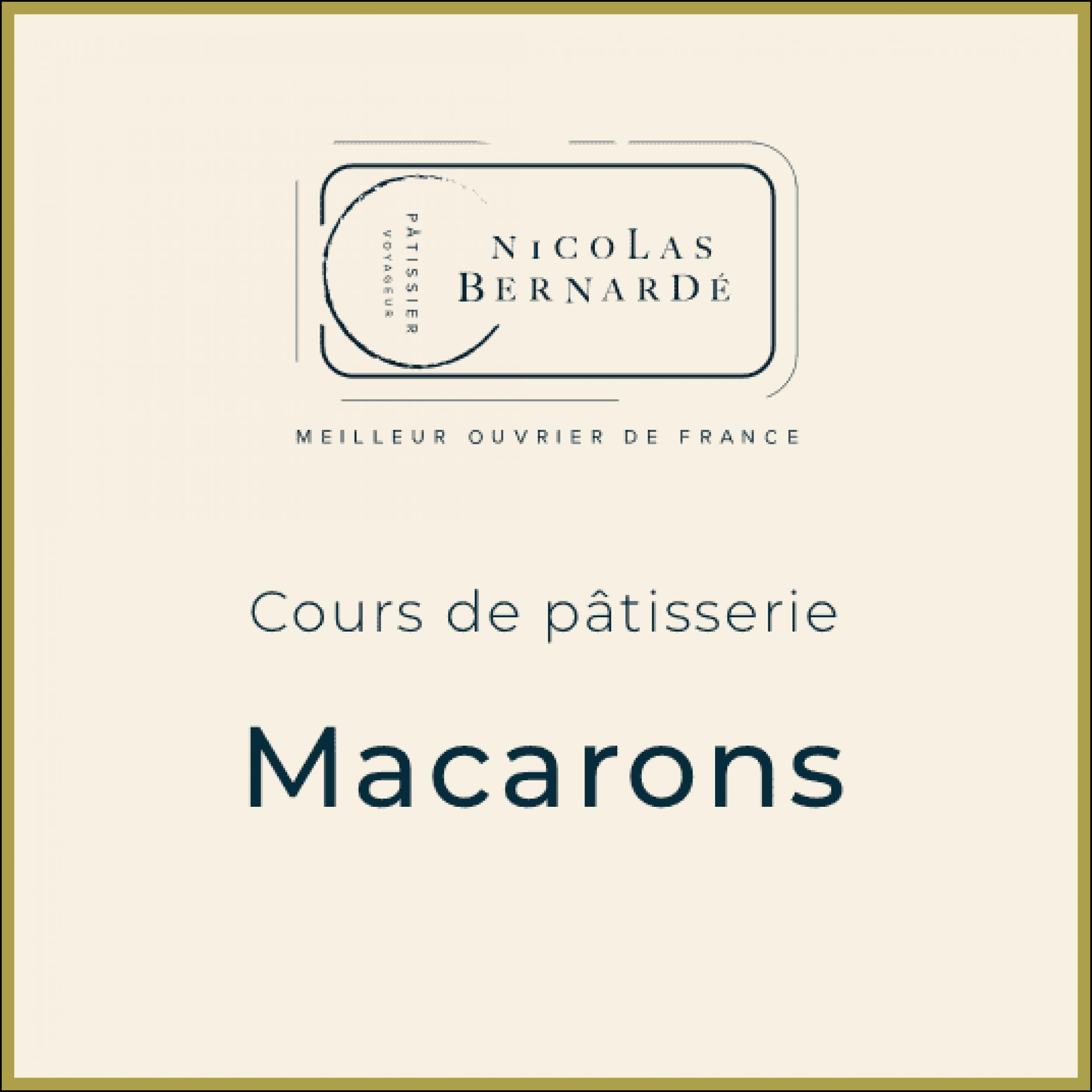 CoursPatisserie Macarons