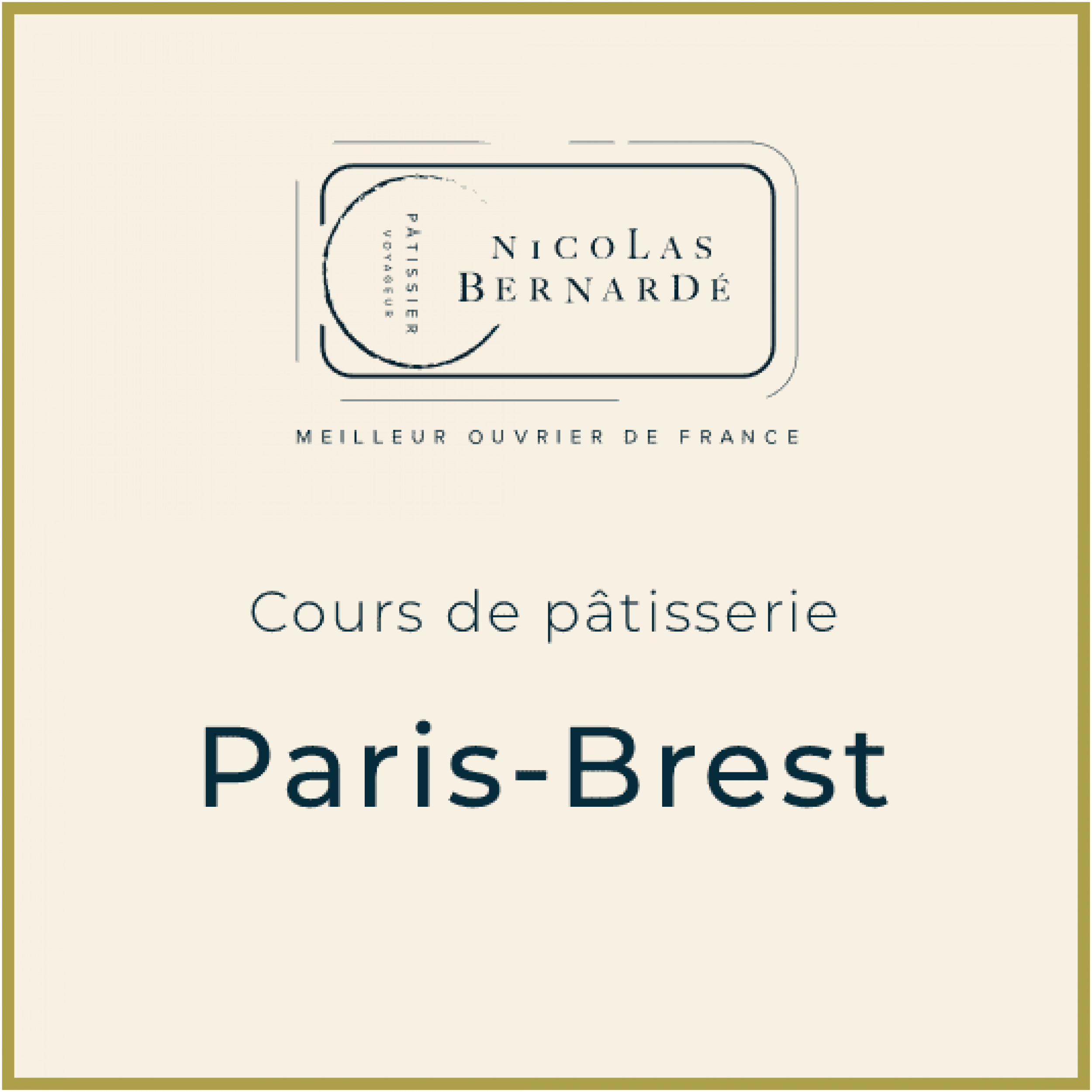 CoursPatisserie ParisBrest