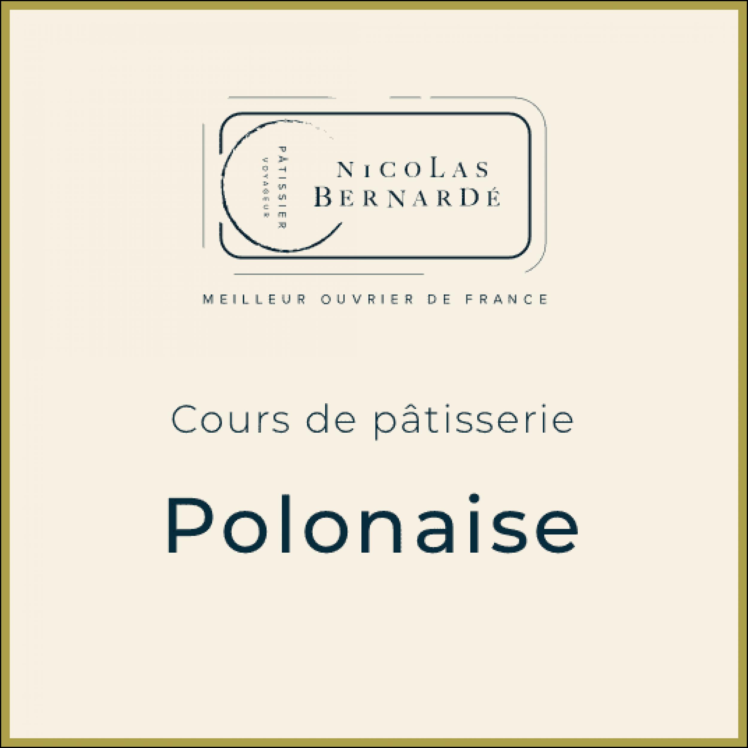 CoursPatisserie Polonaise