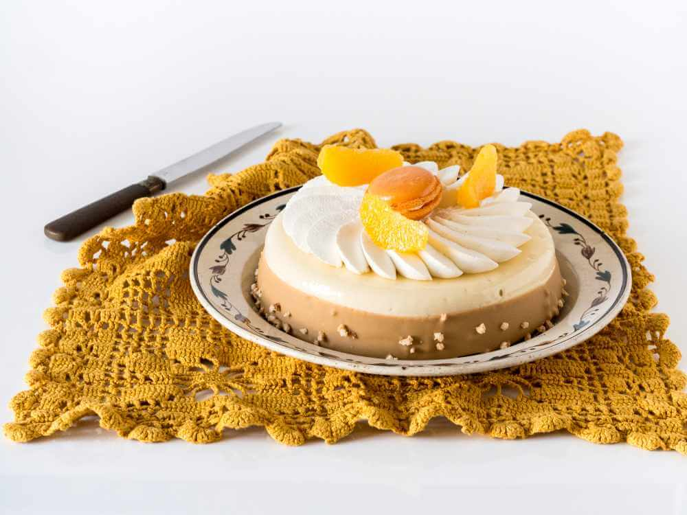 Entremets agrumes dulcey