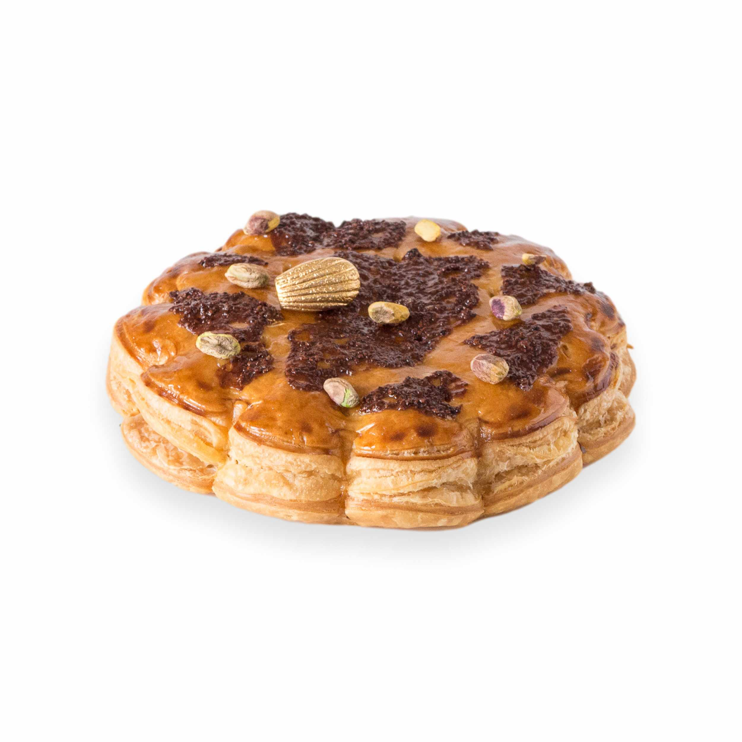 Galette chocolat pistache