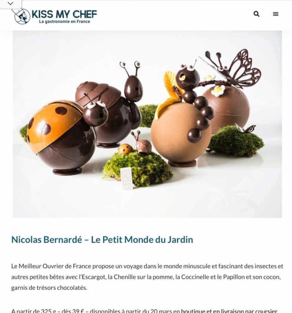 Kissmychef Pâques 2021 Nicolas Bernardé