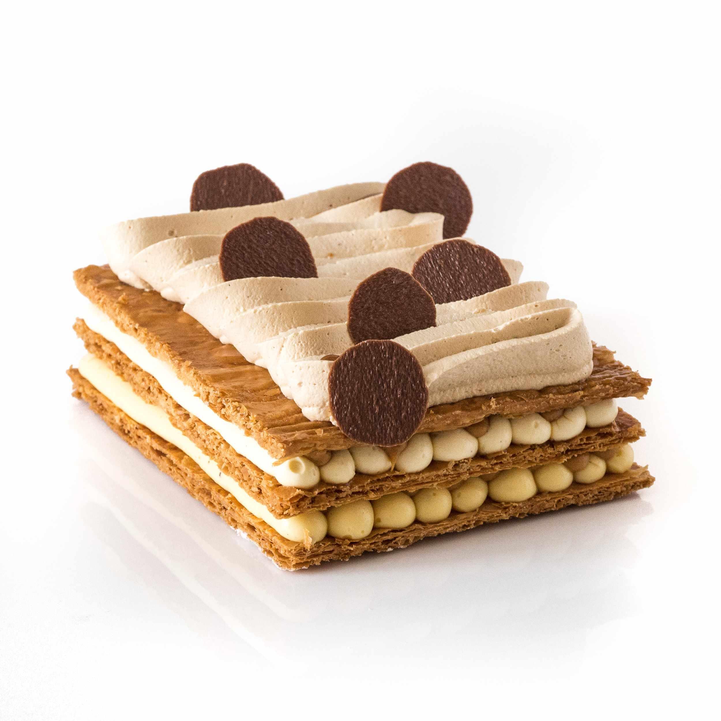 Pâtisserie du Samedi 2 octobre : Mille Vanille-caramel