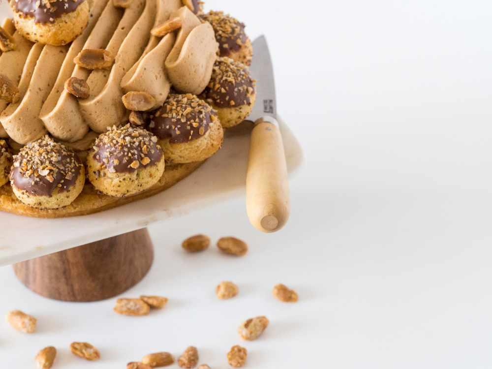 Pâtisserie du samedi : Saint-Honoré Cacahuètes