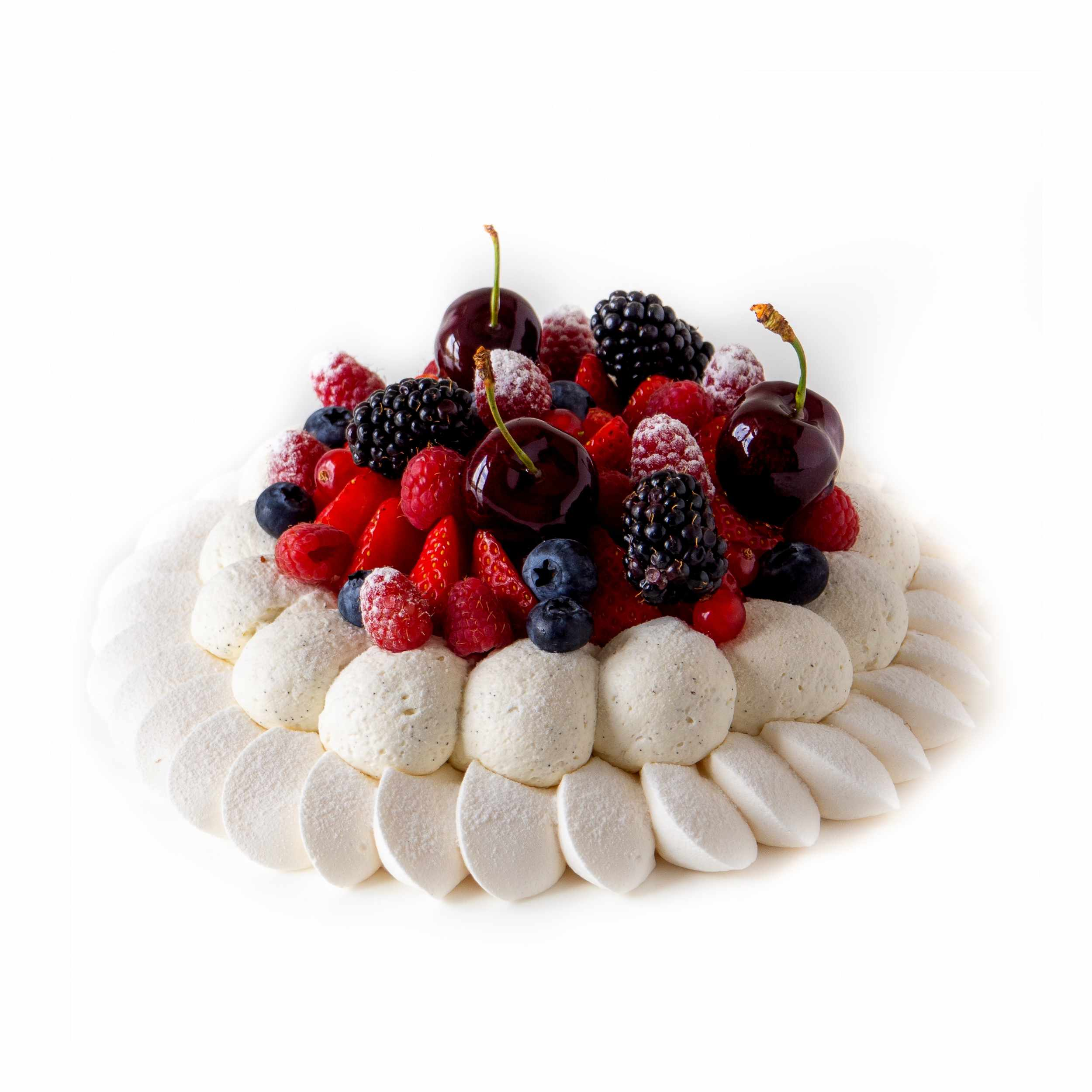 Pavlova-fruits-rouges