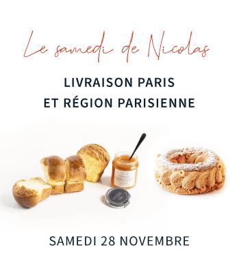 Samedi de Nicolas, Paris-Brest, Brioche, confiture du 28/11/2020