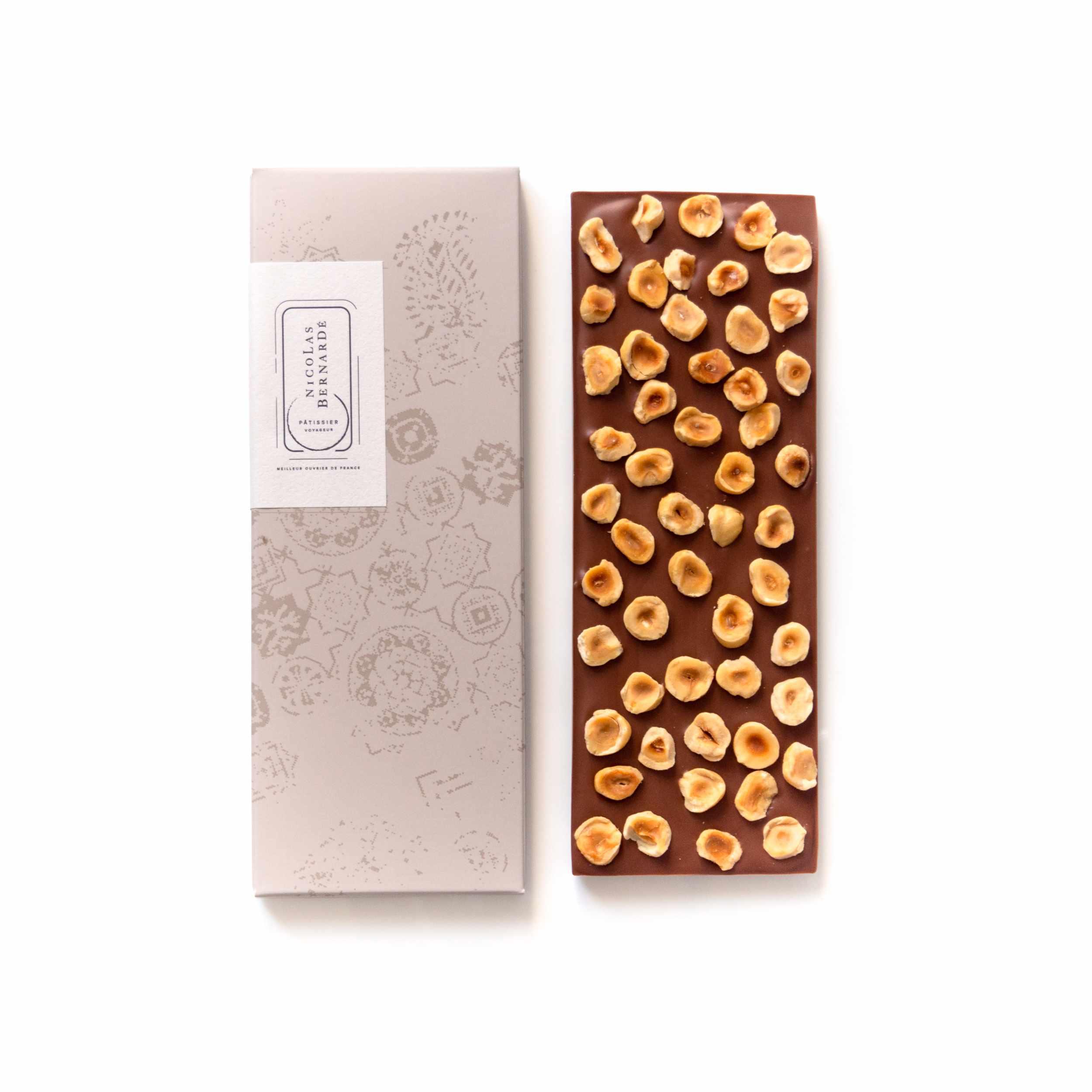 Tablettes chocolat lait enrichi Noisettes