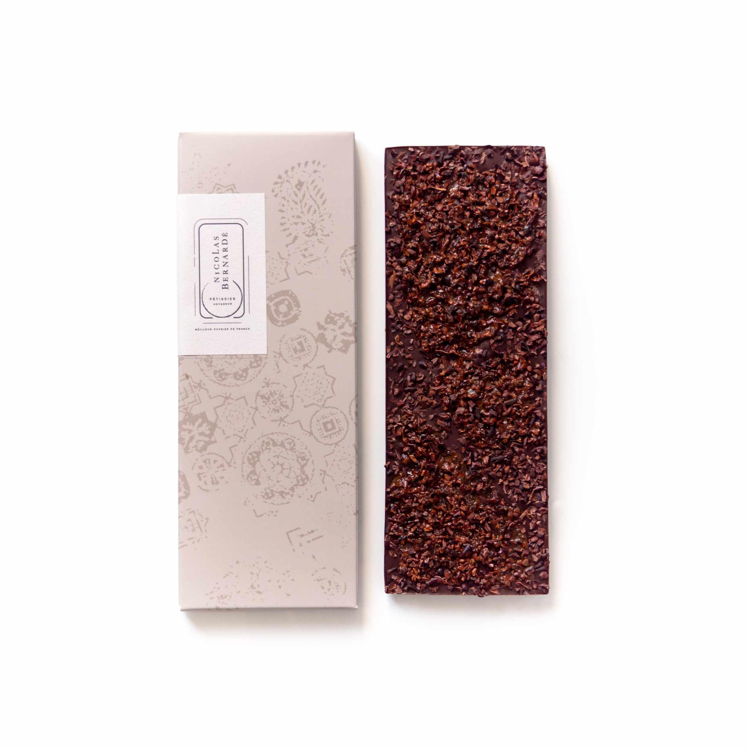 Tablettes chocolat noir enrichi - Grue cacao
