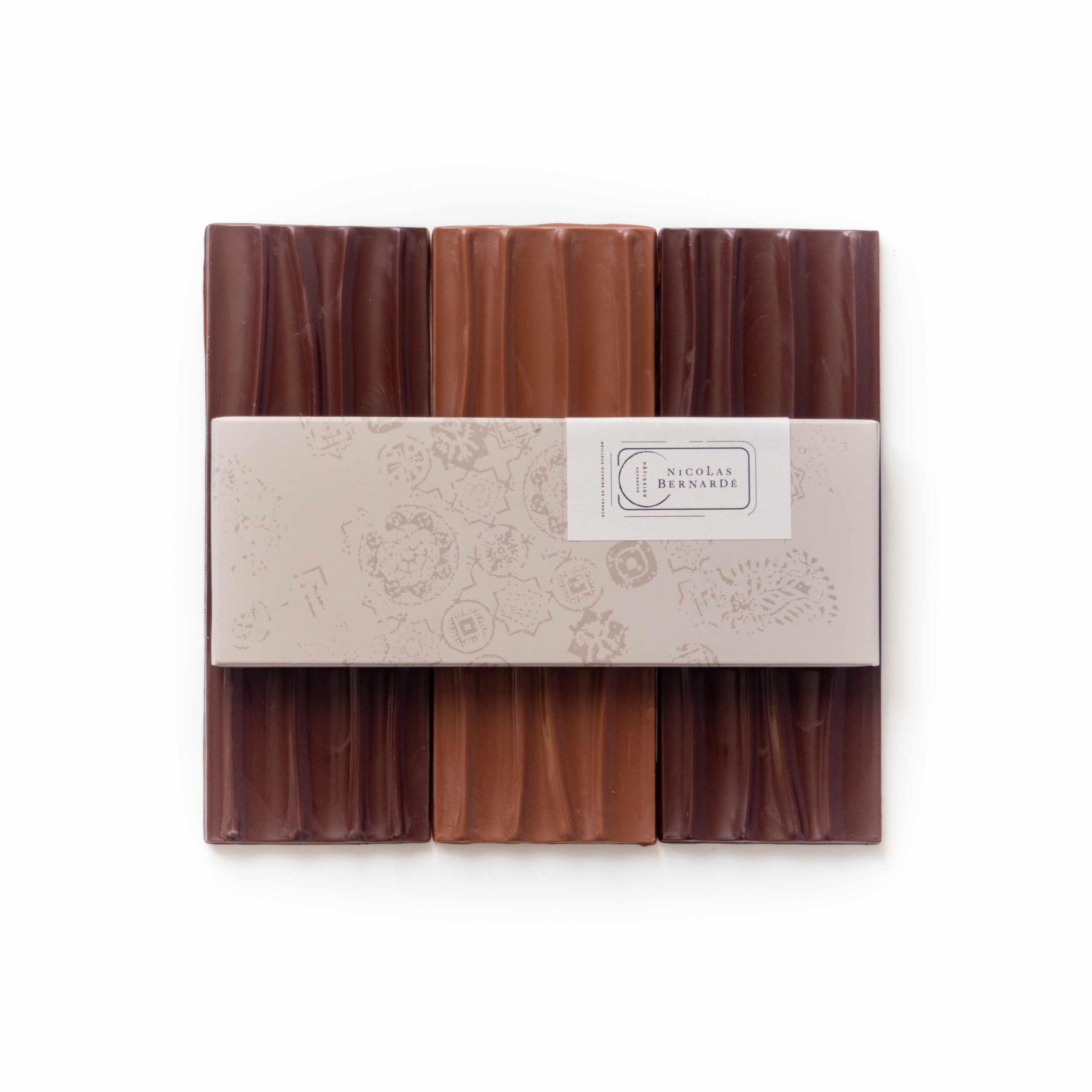 tablettes de chocolats origines