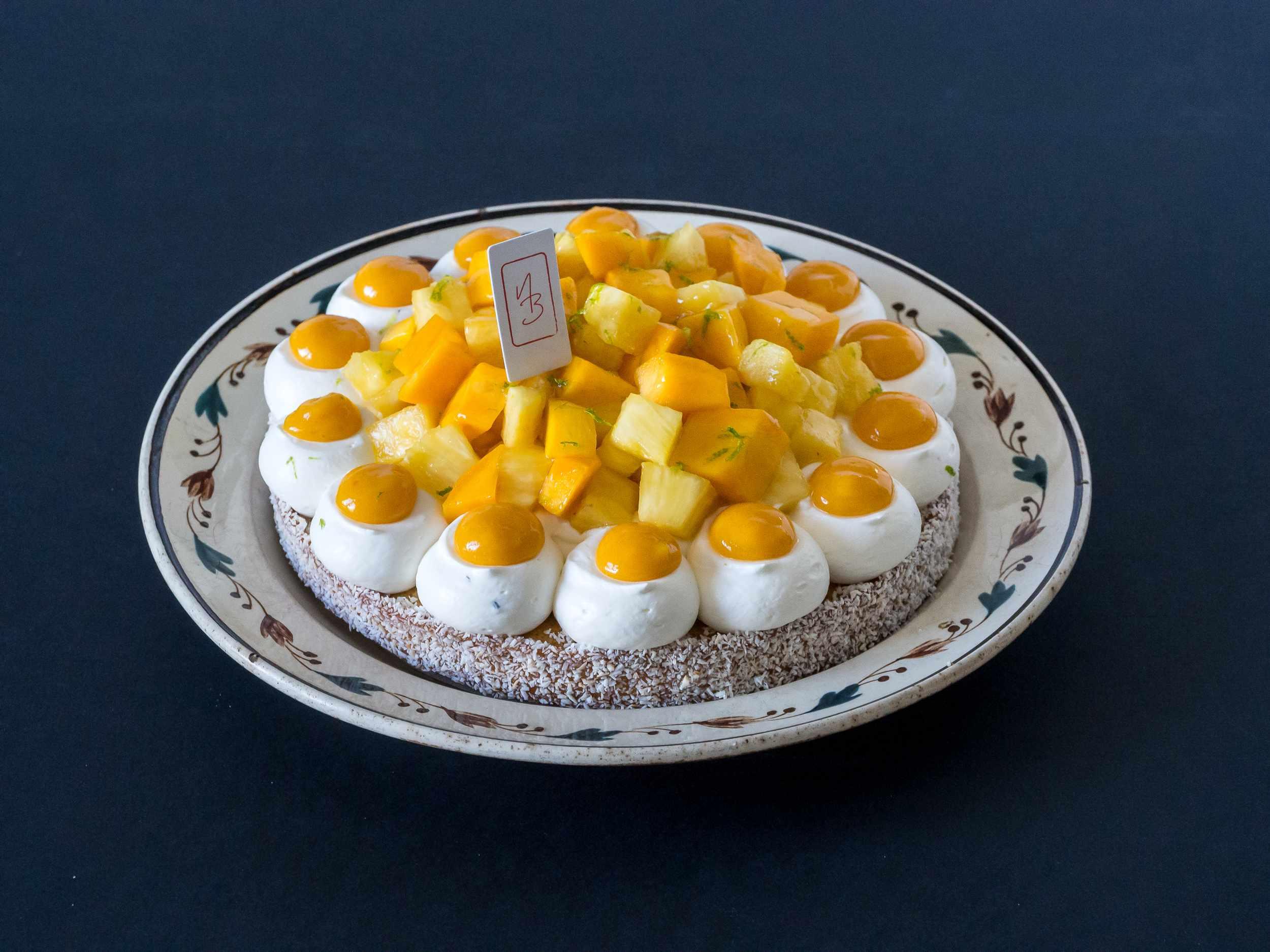 Tarte ananas mangue passion