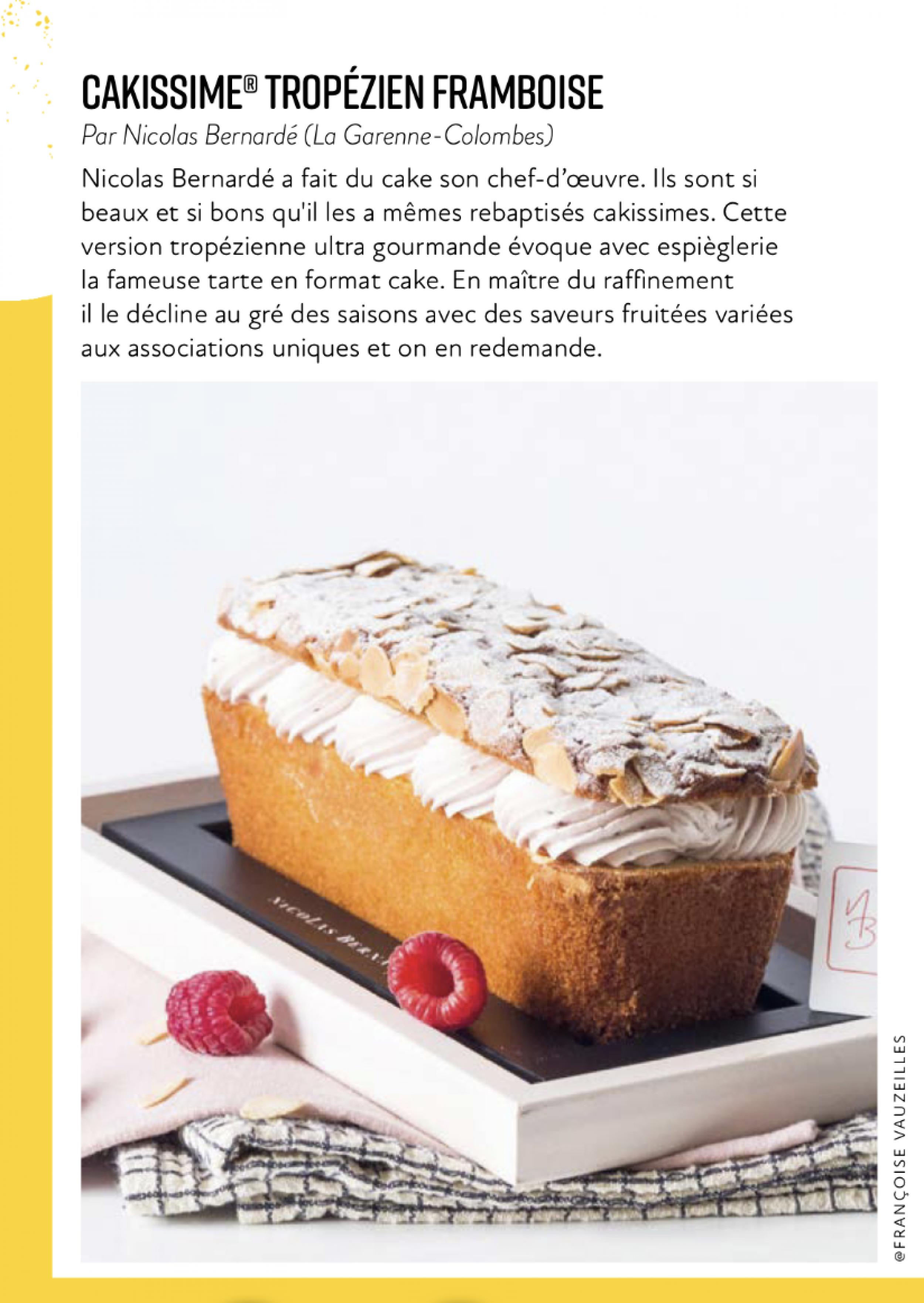 Variation tropezienne cake
