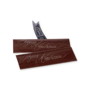 plaquette chocolat pour les anniversaires anniversaire