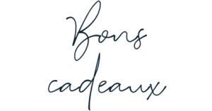 Typographie Bons Cadeaux