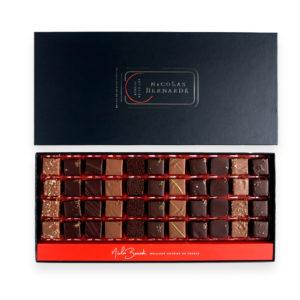 Boite de 44 chocolats enrobés