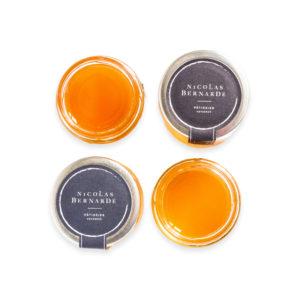 Collection de miels classiques bio et naturels