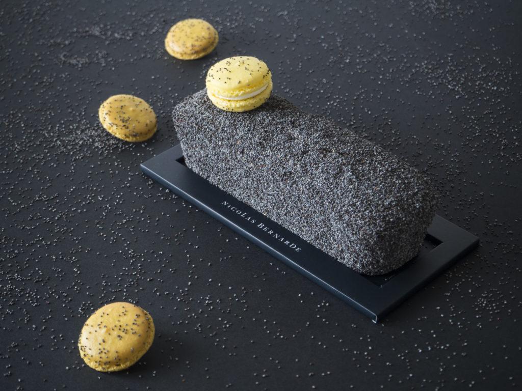 Cake citron recouvert de pavot