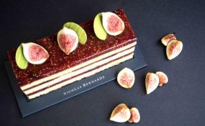 Cake amande figue framboise