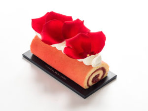 Cake citron framboise pour Octobre Rose
