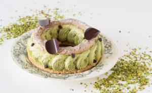 Pâte à choux pistache chocolat
