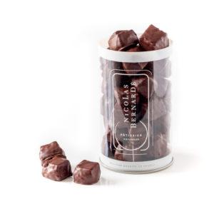 Sablés noisette et chocolat noir