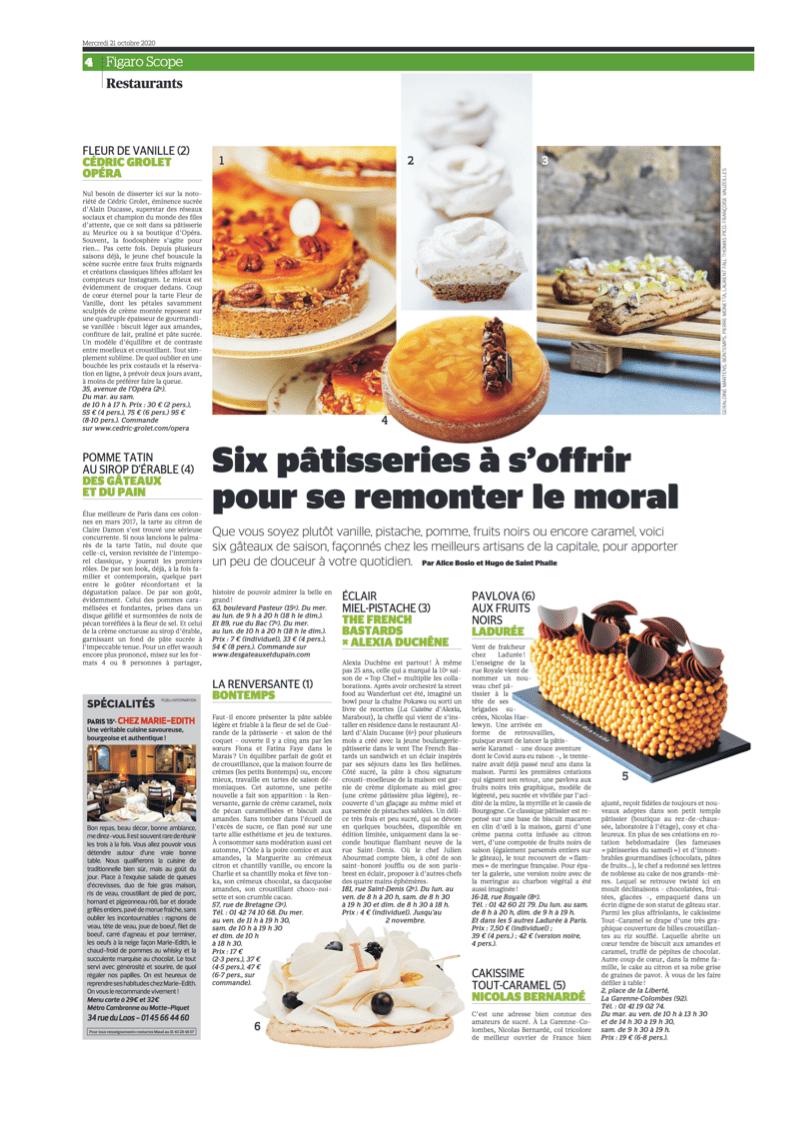 Figaroscope Cake Tout-Caramel