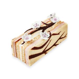 Cake glacé de Noël