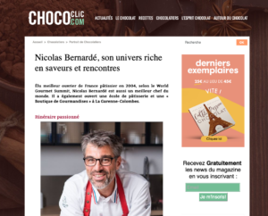 L'univers de Nicolas Bernardé sur Chococlic