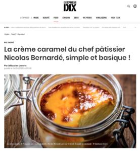 La recette simple et basique de la crème caramel dans un pot en verre
