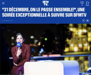 Passons le nouvel an ensemble sur BFMTV, Nicolas Bernardé vous préparera un dessert de fêtes en direct