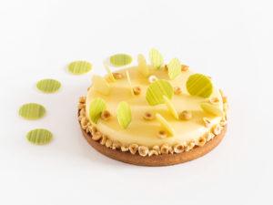 Tarte citron et noisette