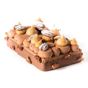 Délice du Yucatan, un Entremets pécan chocolat caramel