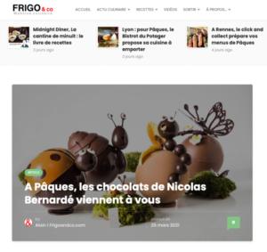 Nos insectes en chocolats dégustés par Frigo&Co