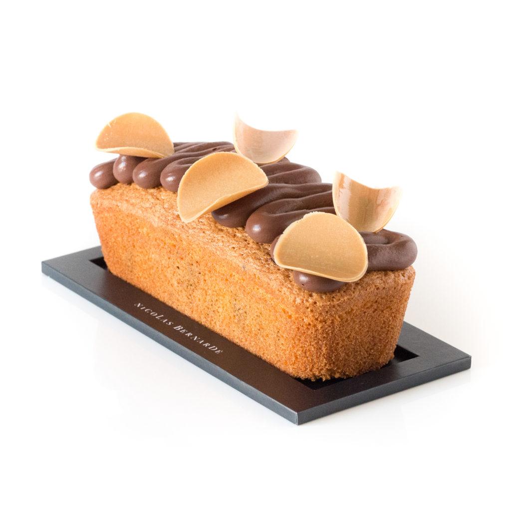 cake marbré chocolat et passion
