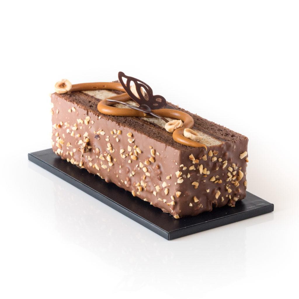 Cake papillon : chocolat et noisettes pour Pâques