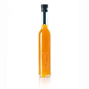 Bouteille d'huile d'olive aux fruits de la passion par Nicolas Bernardé